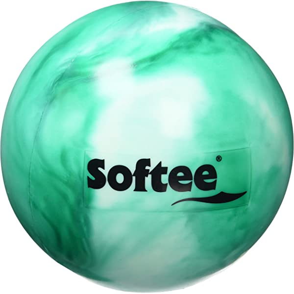 Softee Equipment 0010513 Pelota de Gimnasia, Blanco y Verde, S ...