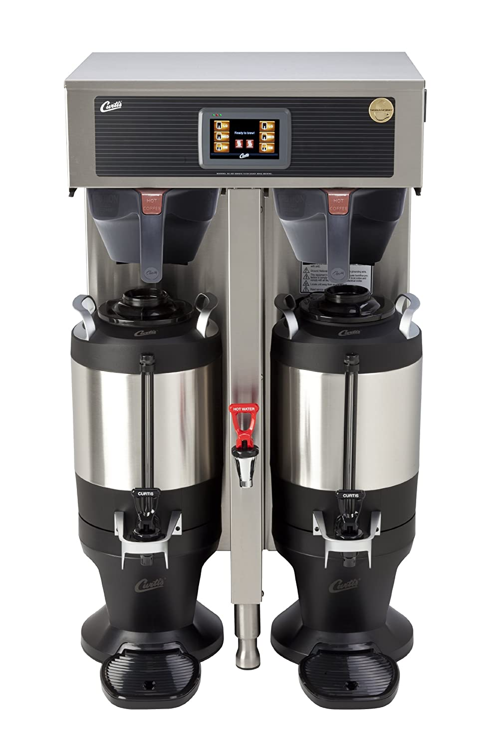 Wilbur Curtis G4 ThermoPro Twin Coffee Brewer, 1.5 Gallon - Commercial Coffee Brewer  - G4TP2T10A3100 (Each) Wilbur Curtis Co. Inc.