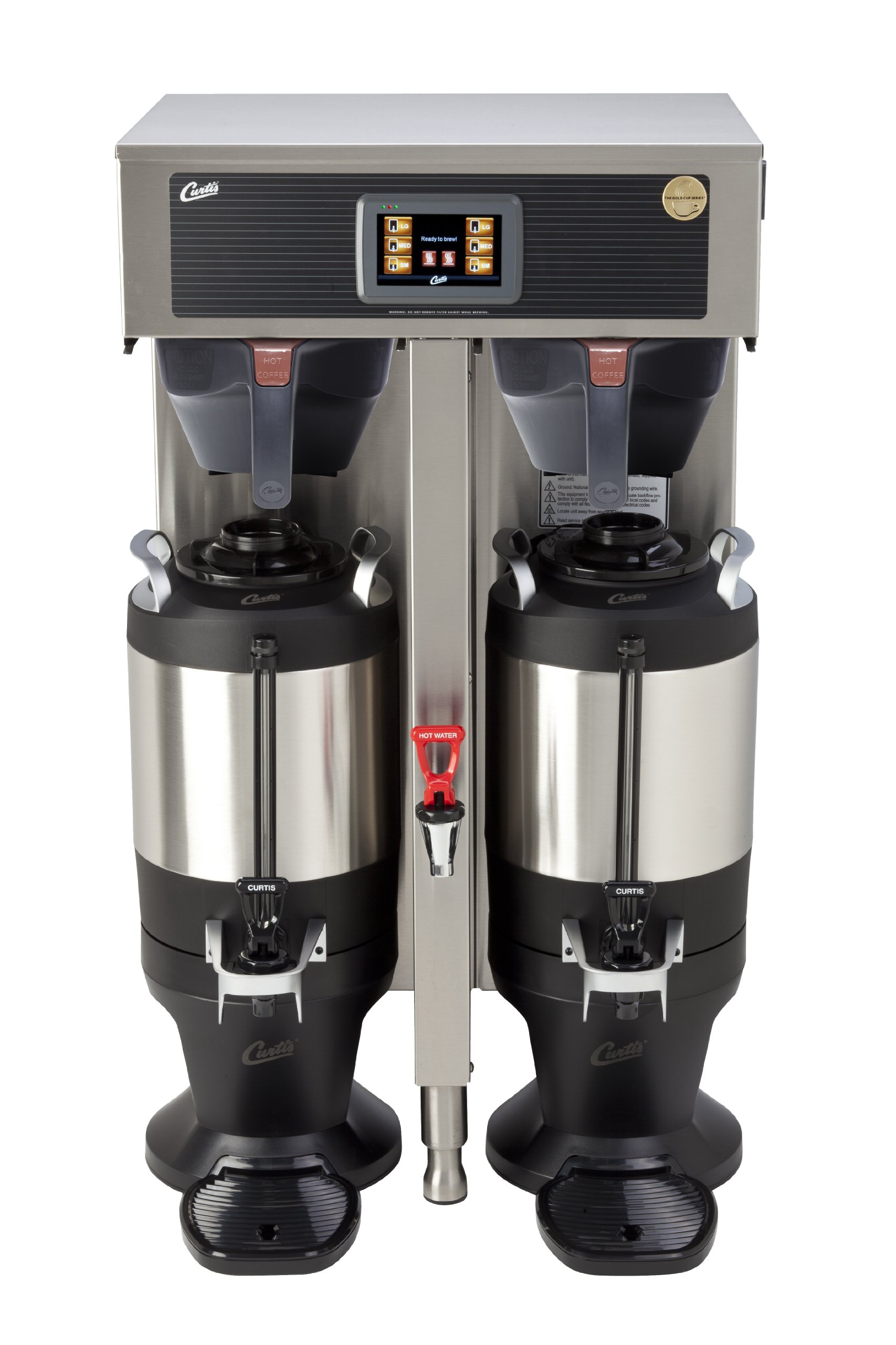 Wilbur Curtis G4 ThermoPro Twin Coffee Brewer, 1.5 Gallon - Commercial Coffee Brewer  - G4TP2T10A3100 (Each)