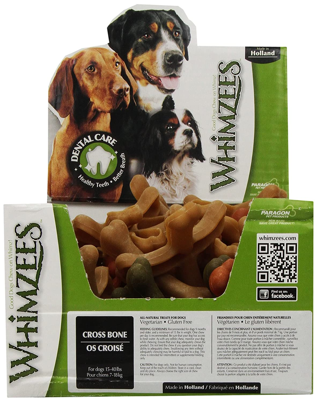 Paragon Dpn01161 Cross Bone Dog Treat, 3-1 2-Inch Case Of 50 Treats
