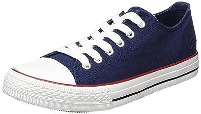 36UR202-710660, Damen Sneakers, Blau (navy 660), 37 EU Dockers by Gerli
