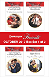 Harlequin Presents - October 2019 - Box Set 1 of 2
