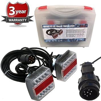 7.5 m LED 5 Funktion Strong Magnet Anhänger Licht Platte Satz Auto ...