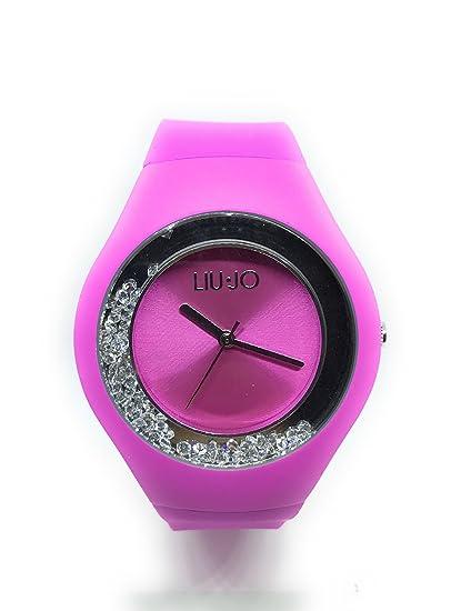 Liu Jo Reloj mujer Dispaly analógico de cuarzo con correa de silicona - tlj1339: Amazon.es: Relojes