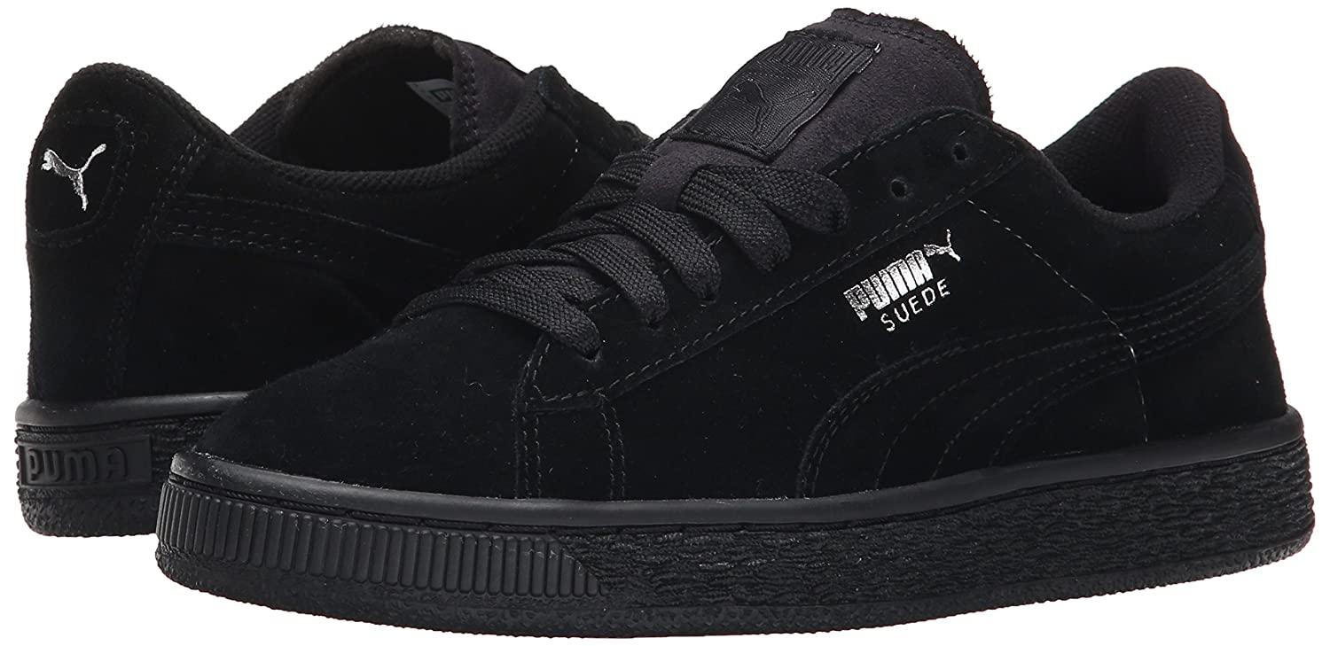 PUMA M Kids' Suede Jr Sneaker B00RC3OKVI 6 M PUMA US Big Kid|Black/Puma Silver 969e15