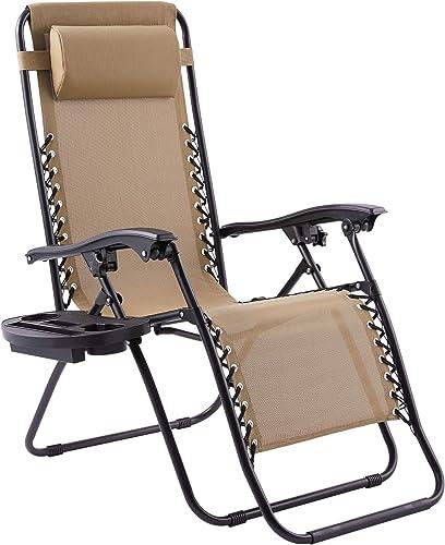Reviewed: VONLUCE Zero Gravity Recliner Chair