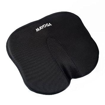 Seat Cushion MAYOGA Coccyx Orthopedic Memory Foam Chair Car Lumbar Support Pillow