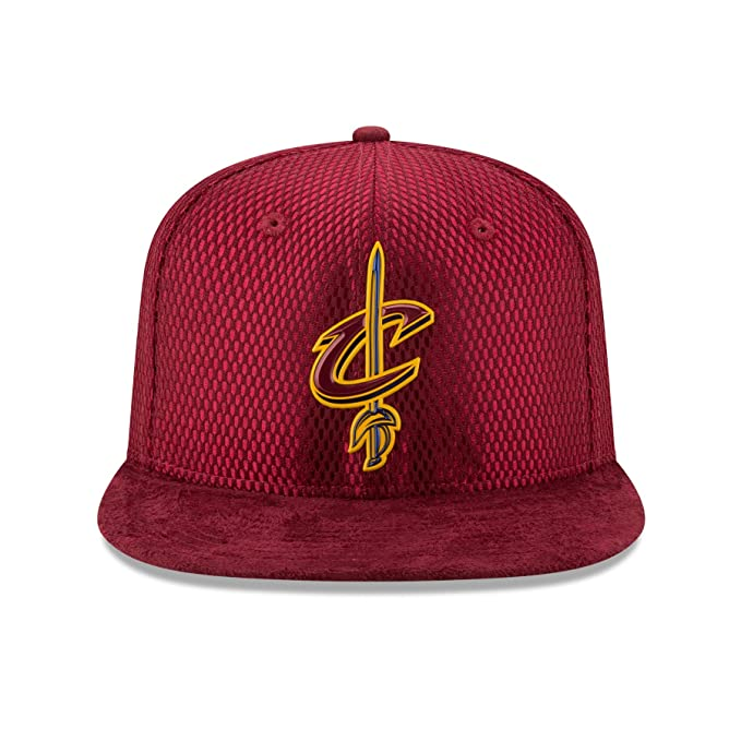 Amazon.com : Cleveland Cavaliers New Era NBA 2017 On Court Collection Draft 9FIFTY (One-Size /) : Sports & Outdoors