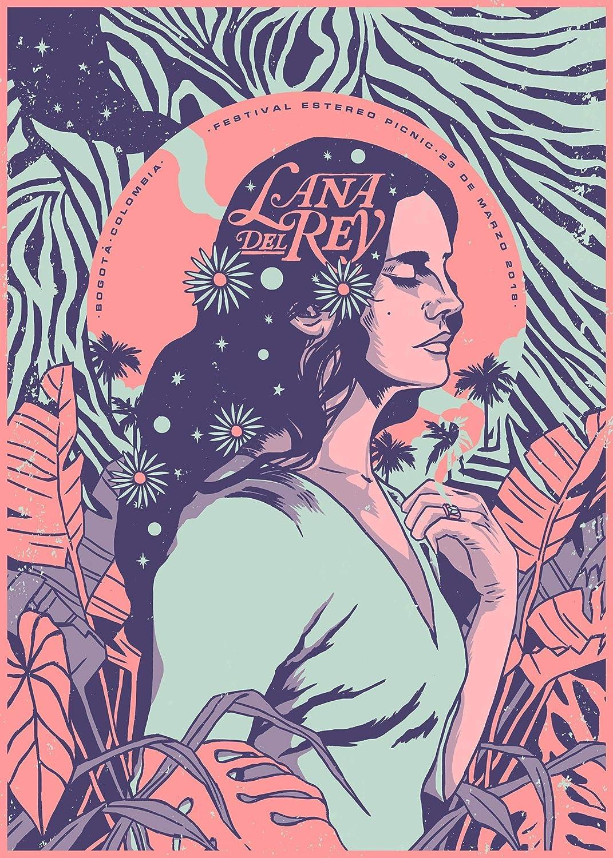 Amazon Com Lana Del Rey Poster Print Wall Art Gift Decor Handmade
