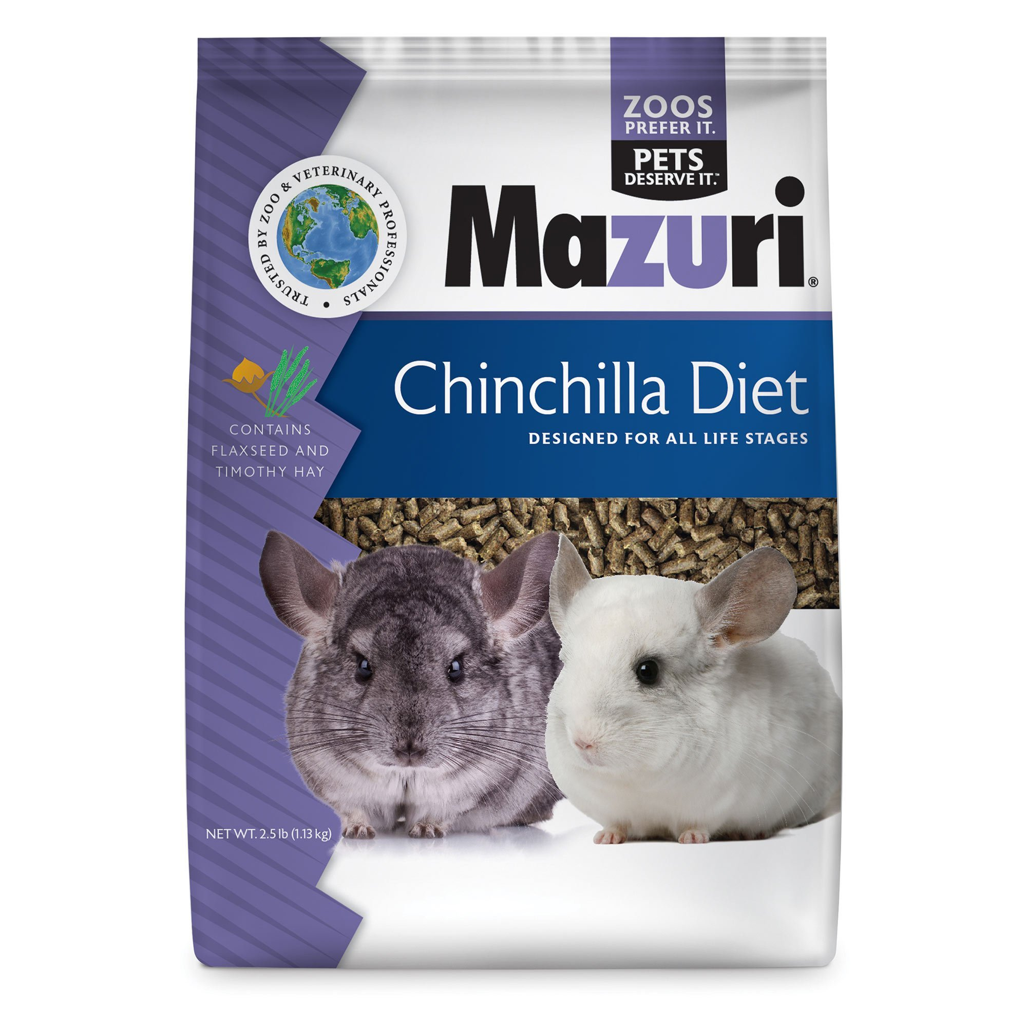 Mazuri Chinchilla Diet, 2.5 lb Bag