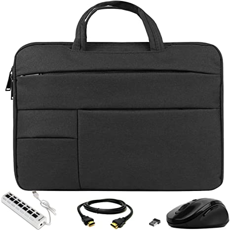 Amazon.com: VG Bags Ultra-Slim Black 14-inch Laptop Sleeve ...