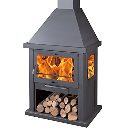 Estufa a madera Dublín Plus – Ambiente 275 M3
