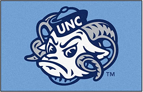 FANMATS NCAA UNC North Carolina – Chapel Hill College Sports Team Logo Nylon Carpet Indoor Home Room Decorative Tailgating Party Area Rug Floor Mat 4×6 46 x72