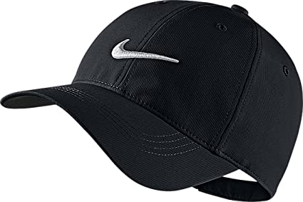 Buy Nike Mens Golf Legacy91 Tech Adjustable Hat Black White 727042 ... 467738cfaa