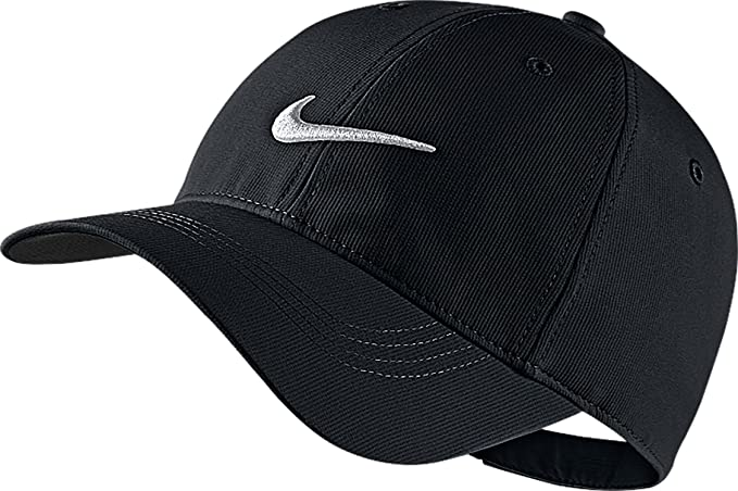 a89c07e55dc Nike Mens Golf Legacy91 Tech Adjustable Hat (Color  White Anthracite Black)