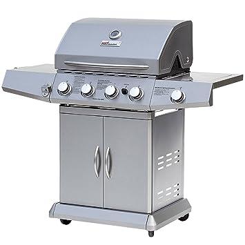 Broil-master - Barbacoa parrilla a gas BBQ con práctica rejilla - calidad certificada por