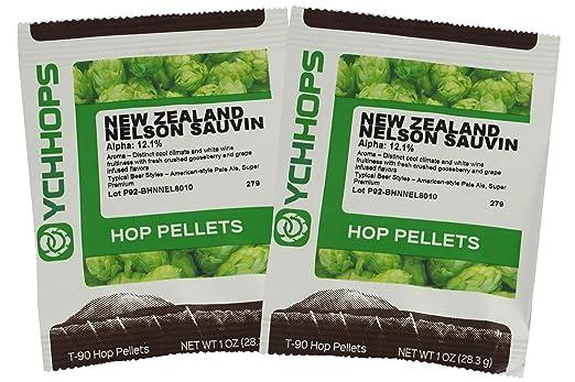 Nelson Sauvin Hop Pellets, 1oz: Amazon.com: Grocery ...