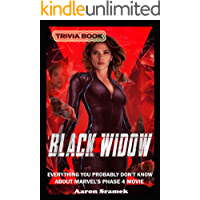 Black Widow Trivia Book - Everything You Probably