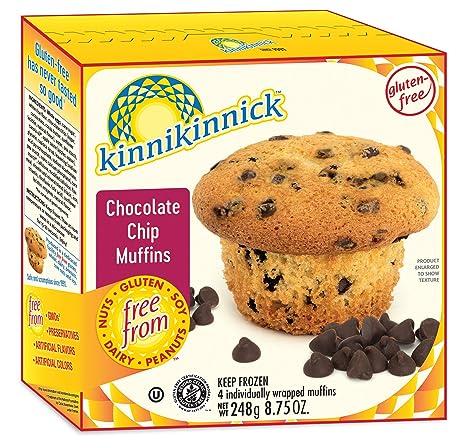 kinnikinnick Alimentos Chocolate Chip Muffin, última ...