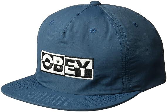 new styles 1f2ac e5433 Obey Men s DOWNBEAT Snapback HAT, Pine, ONE Size