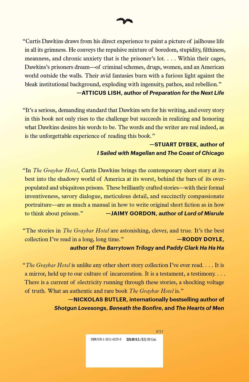 Amazon: The Graybar Hotel: Stories (9781501162299): Curtis Dawkins:  Books