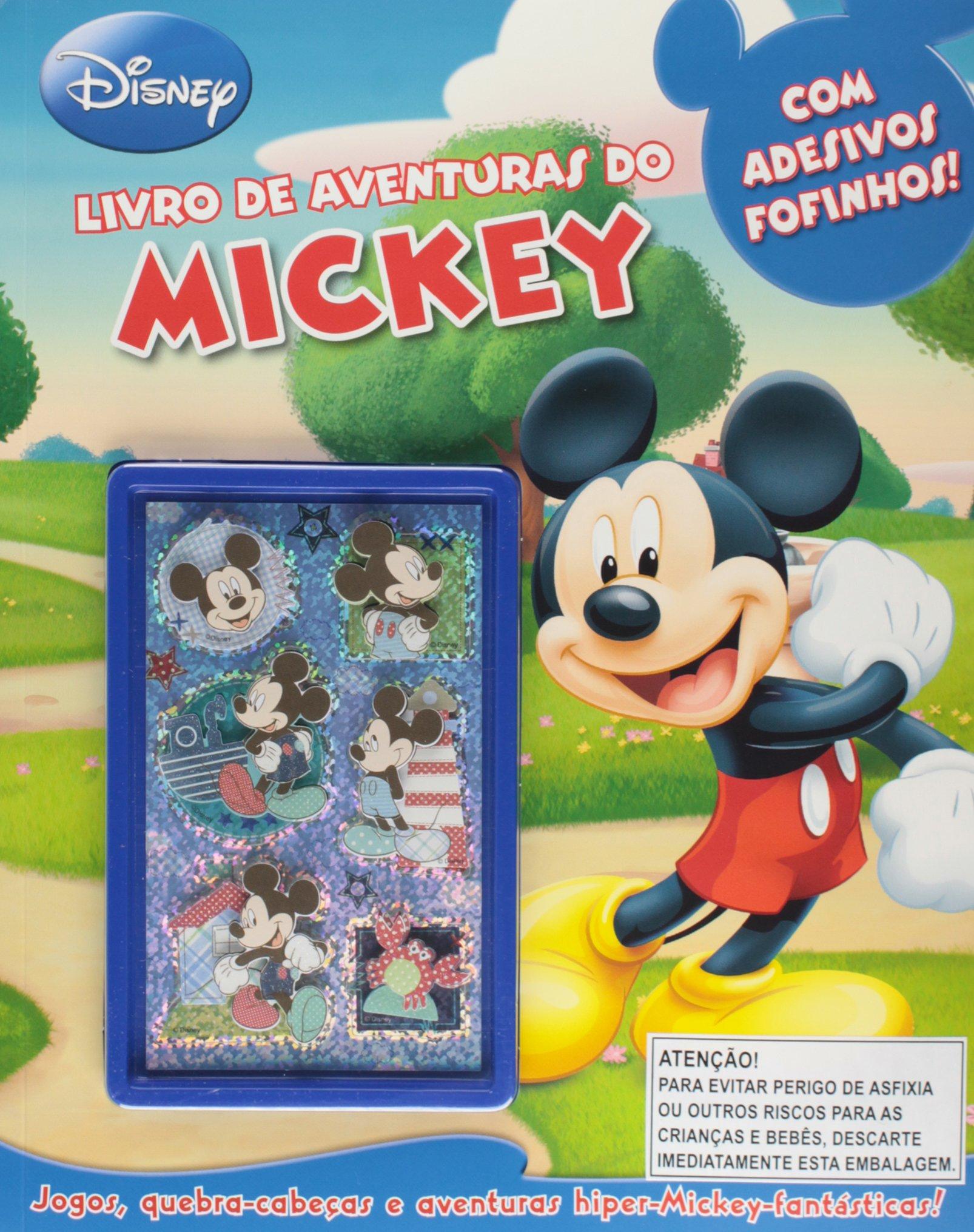 Livro De Aventuras Do Mickey Varios Autores 9788536817316