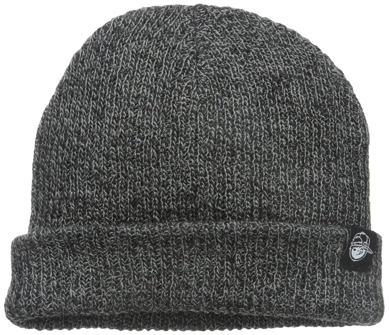 NEFF Boys' Youth Daily Heather Beanie Black/Grey One Size Neff Boys 8-20 15F06003-BKGY-One Size