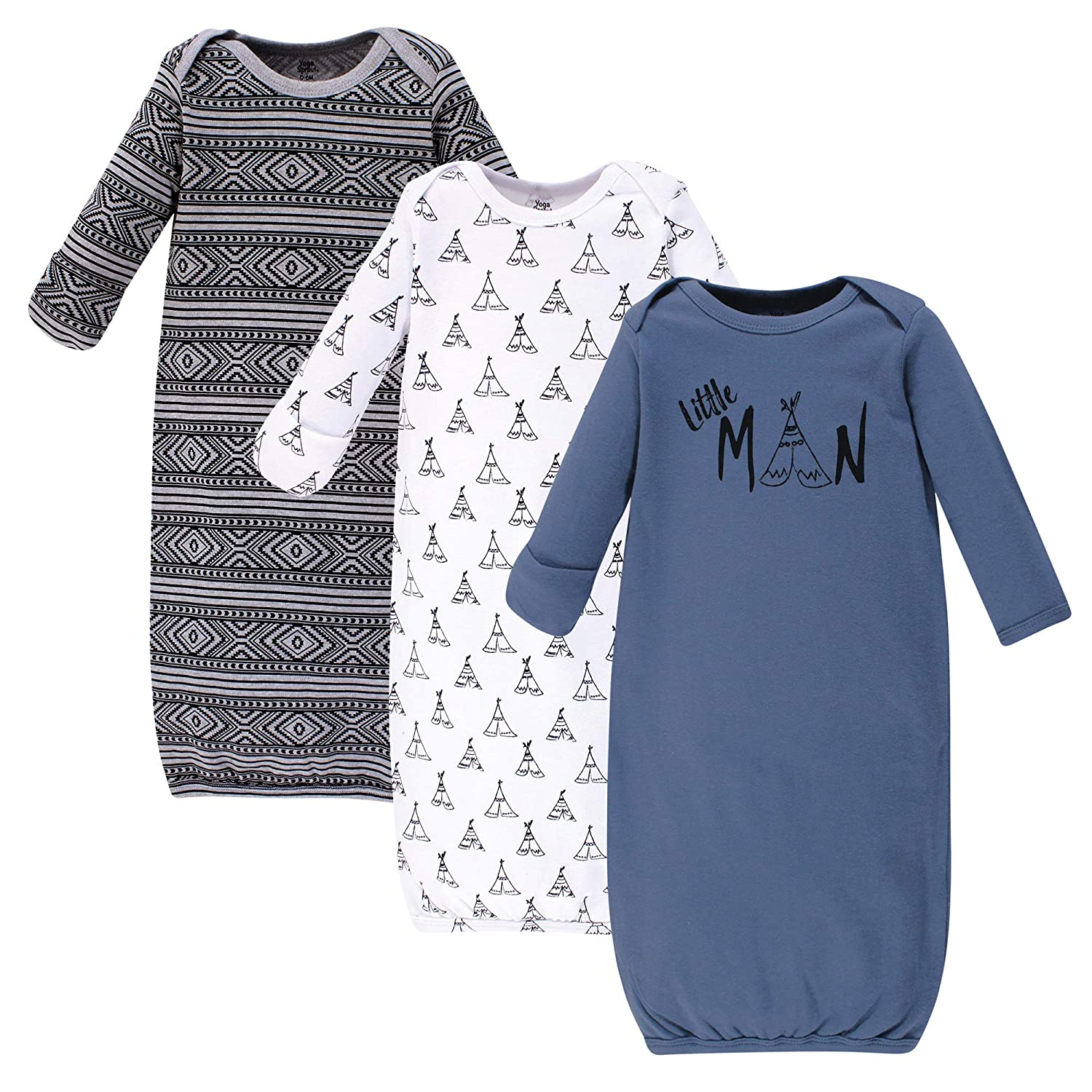 Yoga Sprout Baby Cotton Gowns