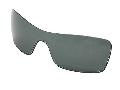 aa85e56e4 Polarizadas Gafas de sol lentes de repuesto para Oakley Batwolf con  protección UV (gris)