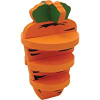 Rosewood 19721 Woodies 3-D Carrot Toy for Small Animals