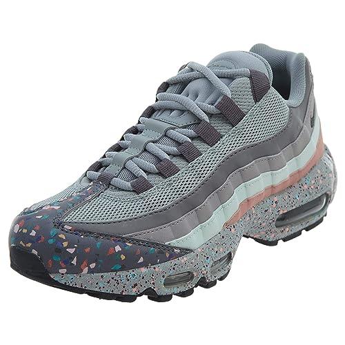 ec90c9d1a232b Zapatillas Nike Air MAX 95 Gris Claro Mujer 39 Gris  Amazon.es  Zapatos y  complementos