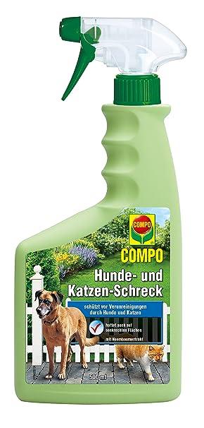 Compo Ahuyentador perros y gatos, pulverizador à 500 ml: Amazon.es: Bricolaje y herramientas