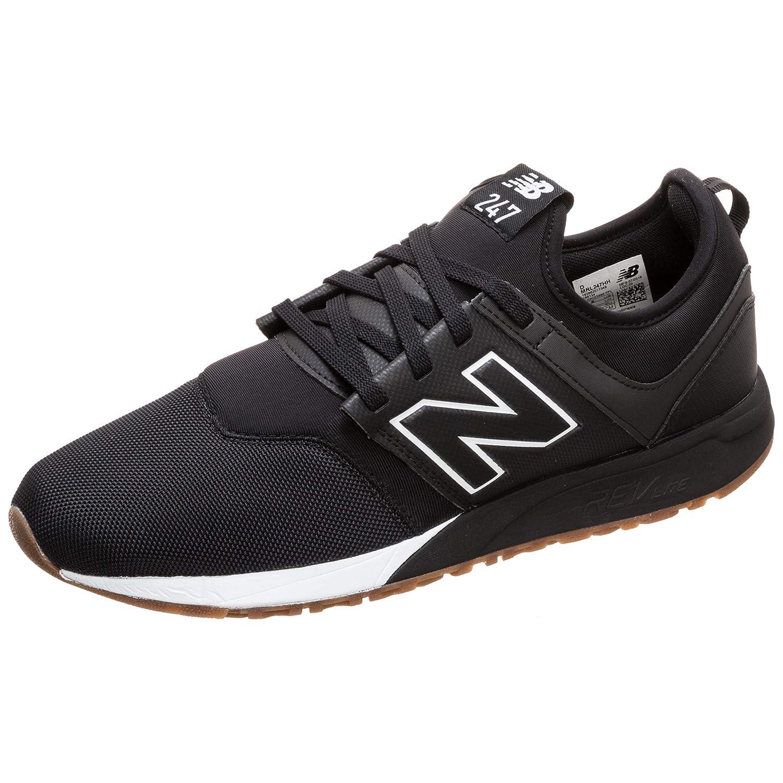 Black (Black White Hh) New Balance Men's 247v1 Trainers