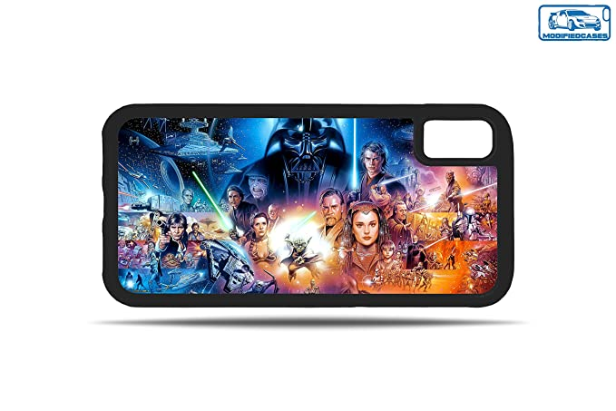 Amazon Com Action Star Wars Characters Wallpaper Bumper Phone Case
