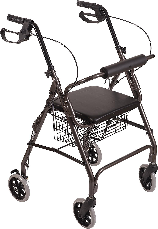 Amazon.com: Duro-Med Andador de aluminio ultraliviano, 501 ...