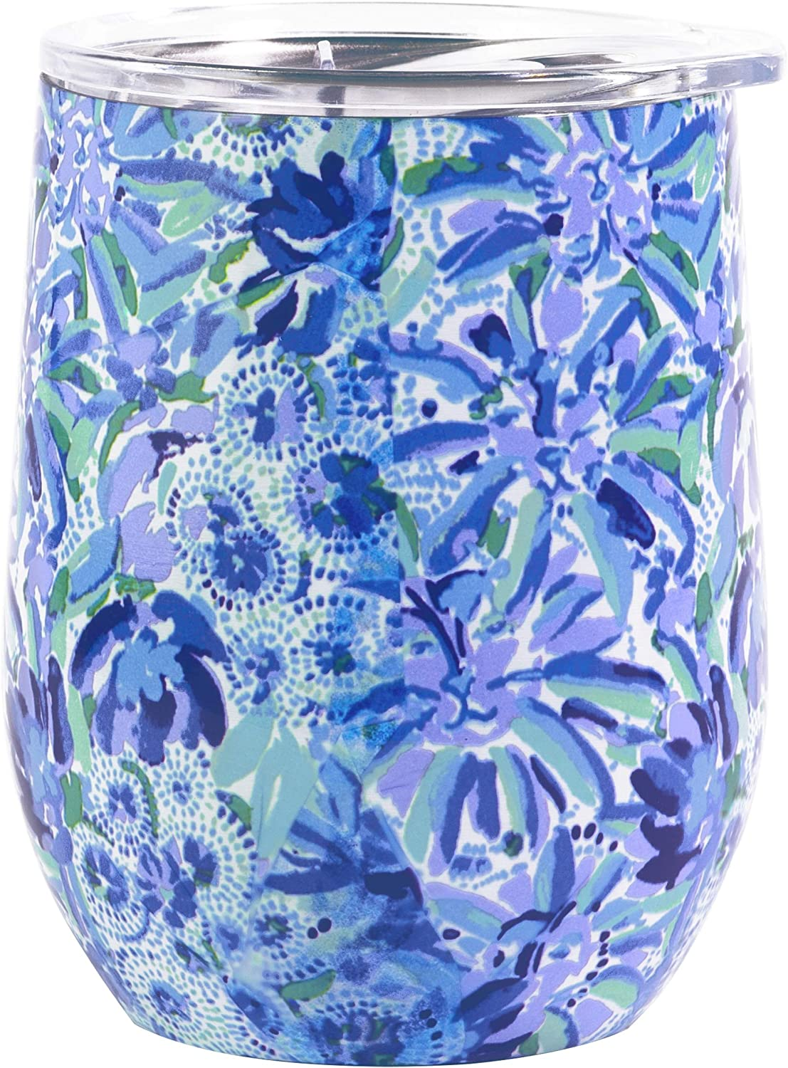 Lilly Pulitzer Insulated Stemless Tumbler High Maintenance One Size