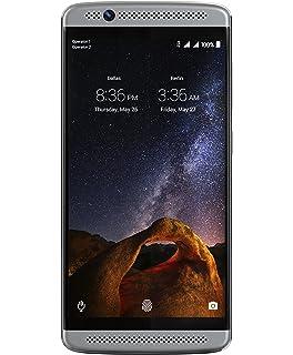 Amazon com: ZTE Axon Factory Unlocked Phone, 32 GB Phthalo Blue