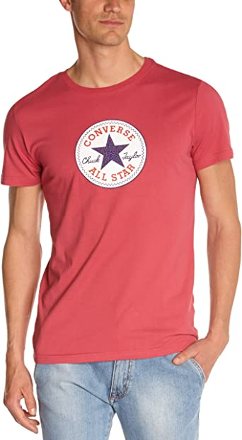 tee shirt converse rouge