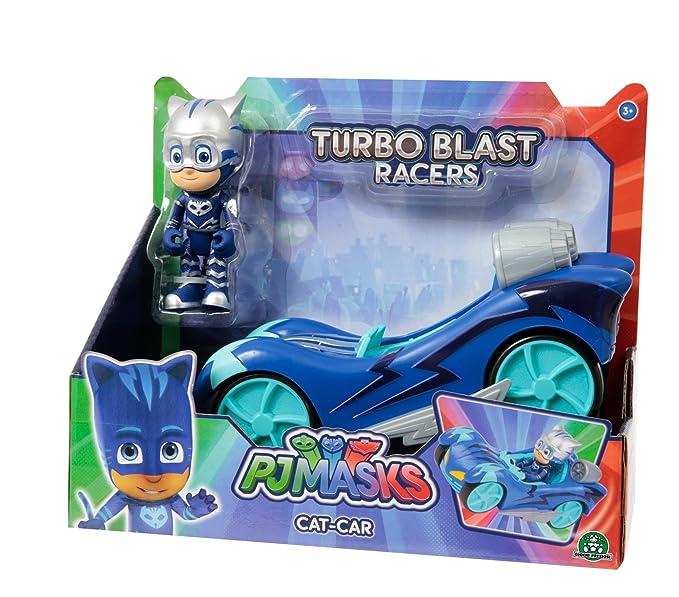 Pyjamasques - Vehículo Turbo Racer con Figura - Yoyo, pjm441: Amazon.es: Juguetes y juegos
