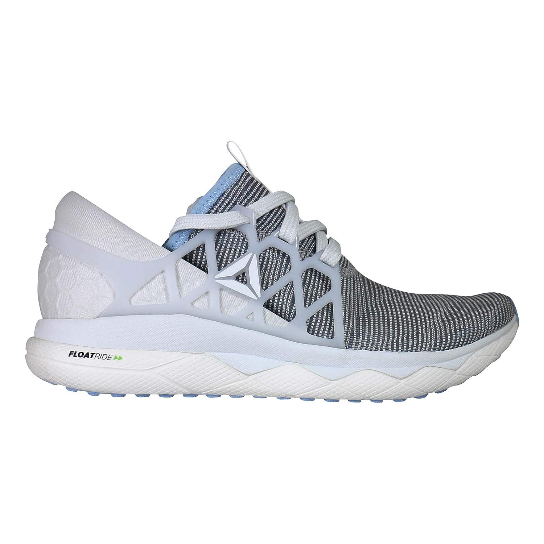 Reebok Damen Floatride Run Flexweave Laufschuhe Neutralschuh Weiß Weiß Weiß - Blau 38 199e65