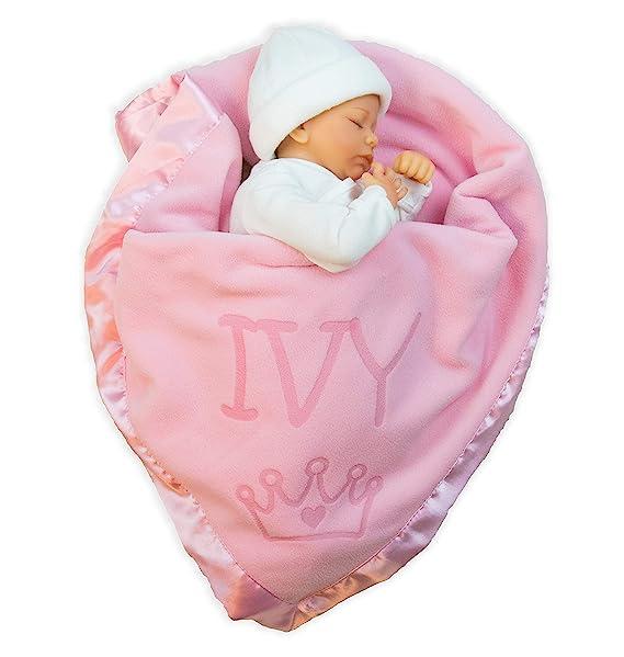 Amazon.com: Custom Catch Princess Manta para bebé para niñas ...