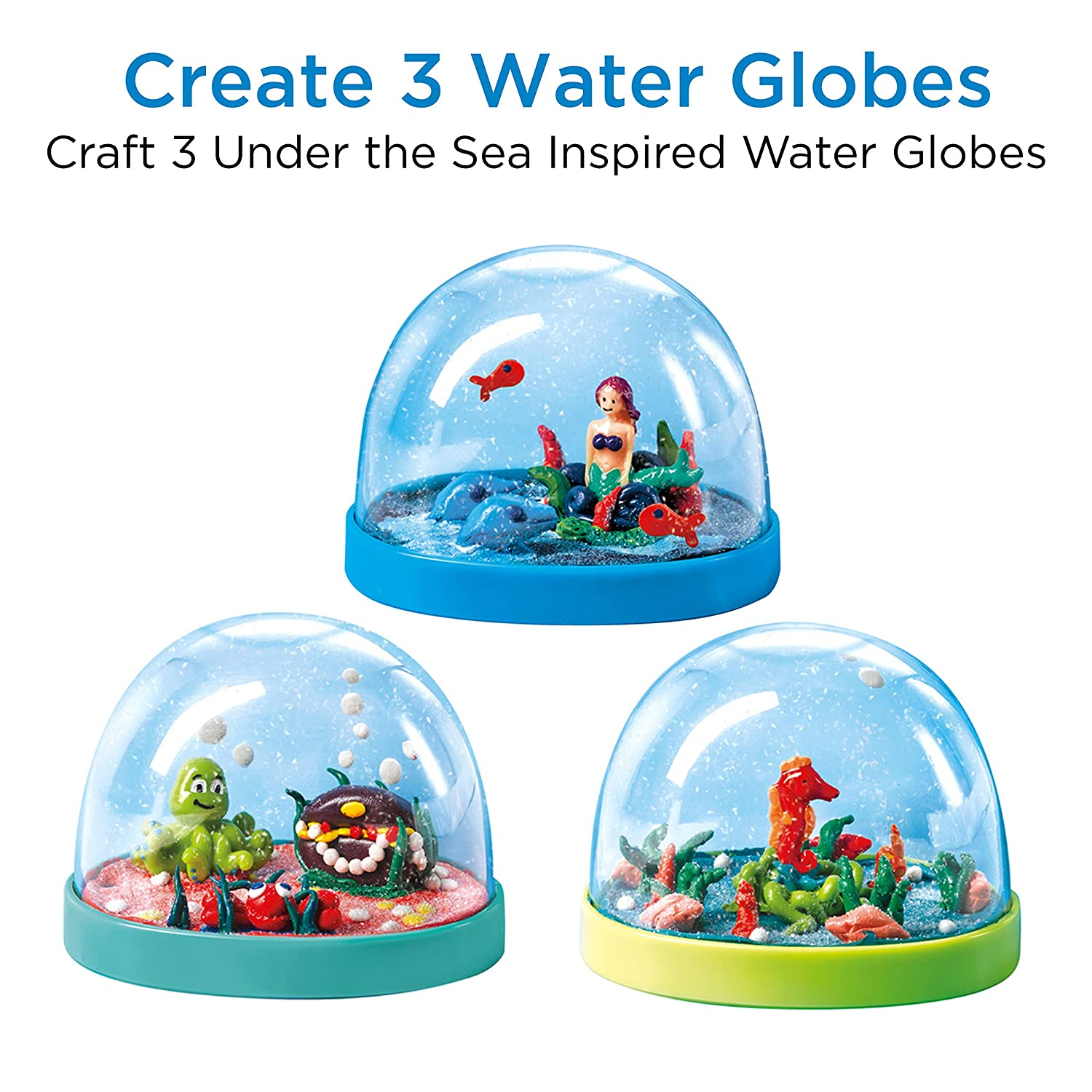 Amazon.com: Creativity for Kids Make Your Own Water Globes - Under ...