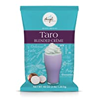 Taro Blended Crème Mix by Angel Specialty Products [3 LB]
