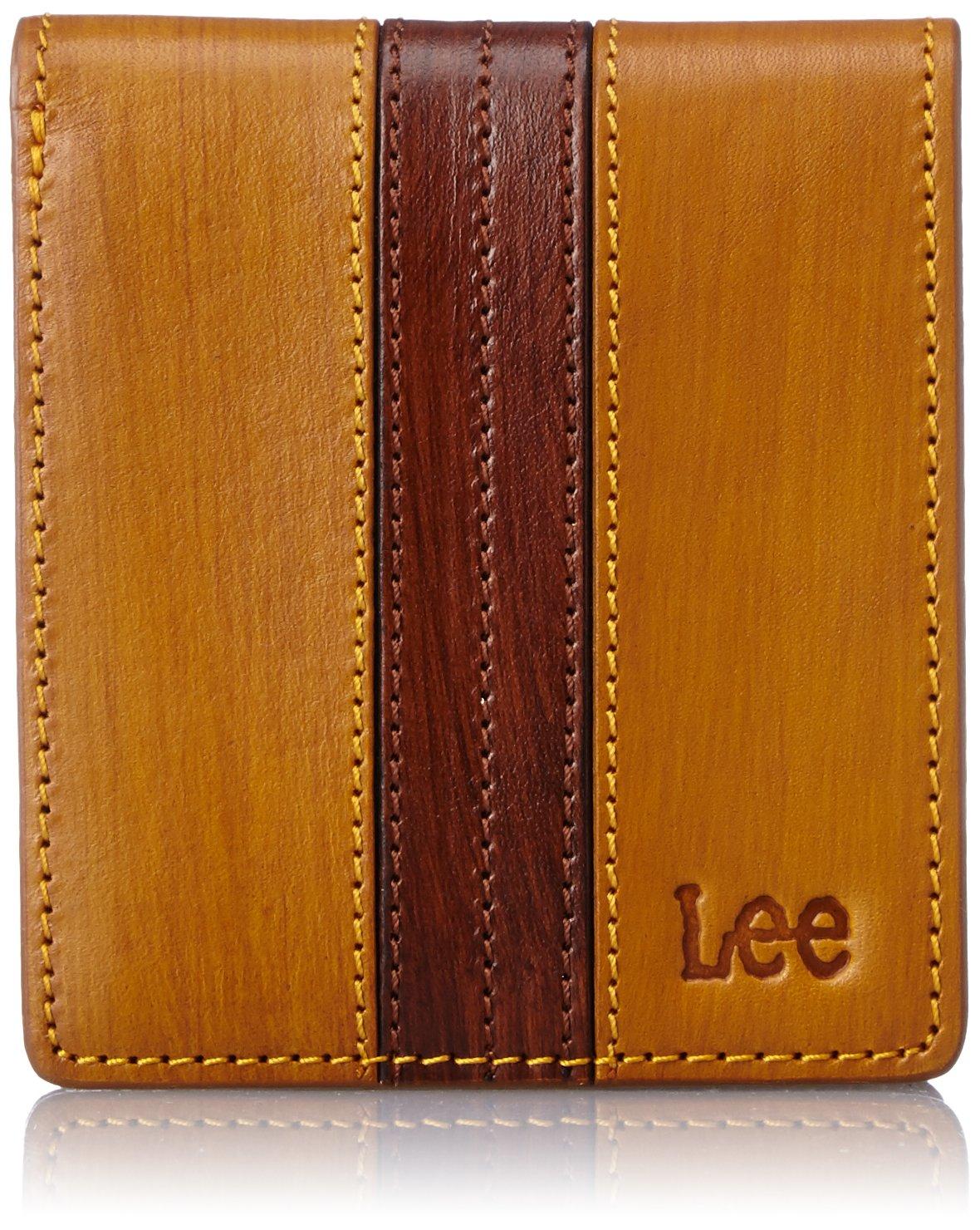 [リー] 財布 高級イタリアンレザー 二つ折り 320-1901 B0105L5G9S キャメル キャメル
