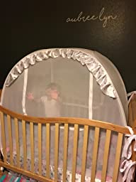 Pop Up Canopy Tent >> Amazon.com : Baby Crib Tent Safety Net Pop Up Canopy Cover - Never Recalled : Baby