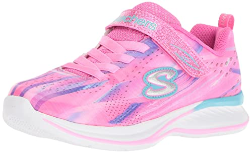 Skechers Girls' Jumpin Jams-Dream Runner Trainers: Amazon.co ...