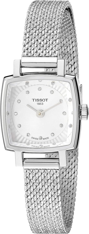 Tissot Reloj Analógico para Mujer de Cuarzo con Correa en Acero Inoxidable T0581091103600