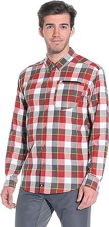 SALOMON Equation LS M - Camisa para Hombre Rojo/Gris XL: Amazon.es: Ropa y accesorios