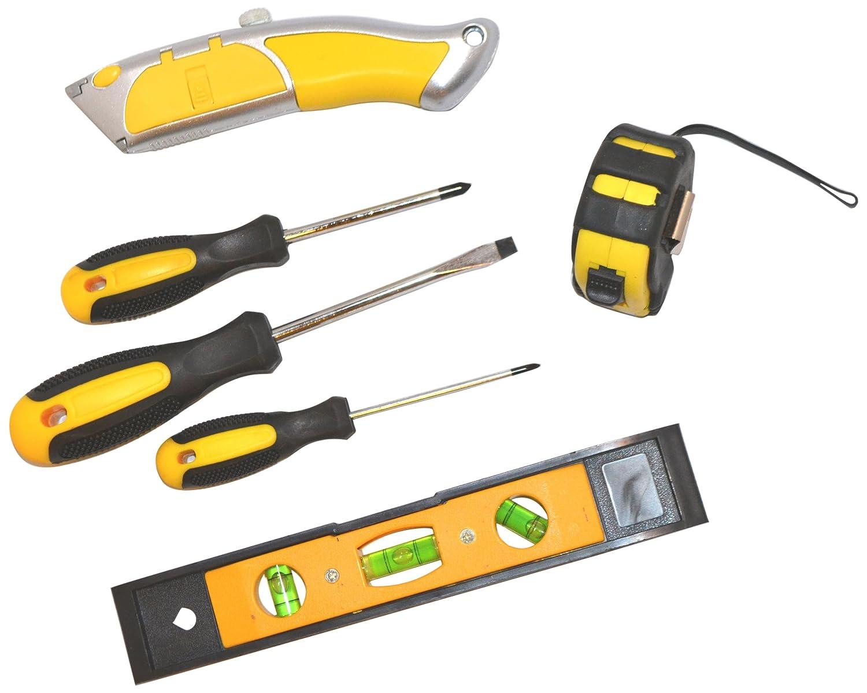 14 West 14W-1329 Do-It-Yourself Home Tool Kit 6-Piece