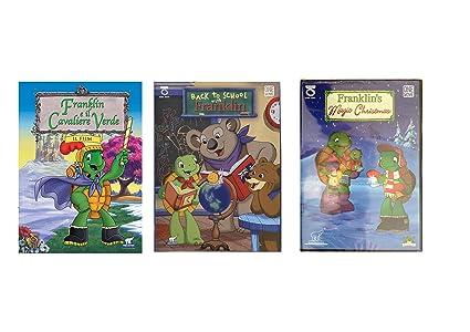 Offerta cartoni animati 3dvd franklin più omaggio 40 canzoni mp3 per